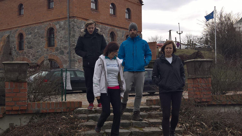 3 Pleszewskie Włóczykije nordic walking Pleszew Fitness Klub Active Fit Traugutta 30