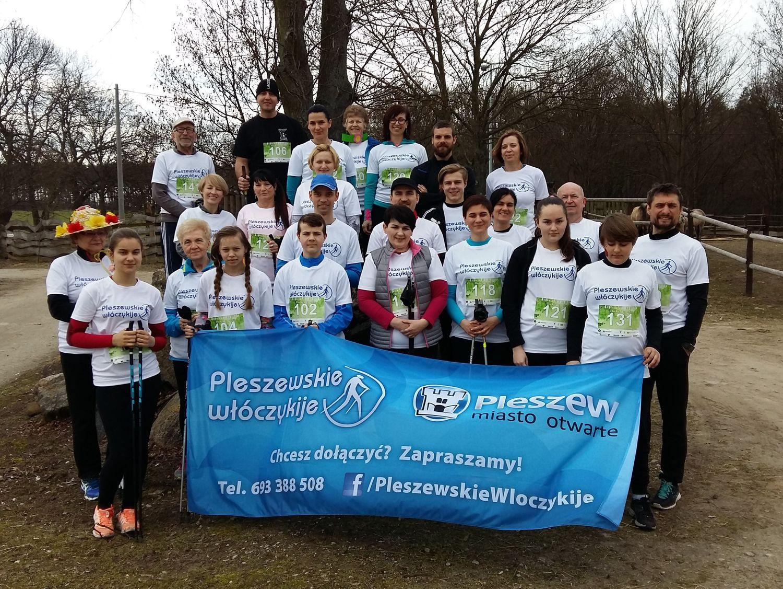 6 Pleszewskie Włóczykije nordic walking Pleszew Fitness Klub Active Fit Traugutta 30