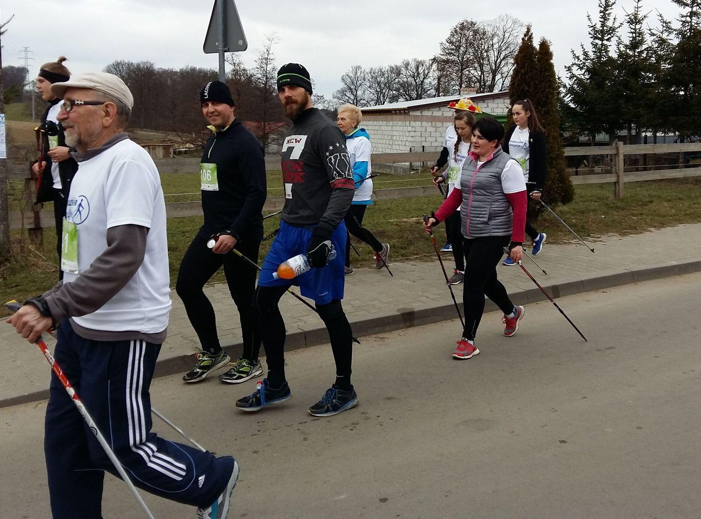 10 Pleszewskie Włóczykije nordic walking Pleszew Fitness Klub Active Fit Traugutta 30