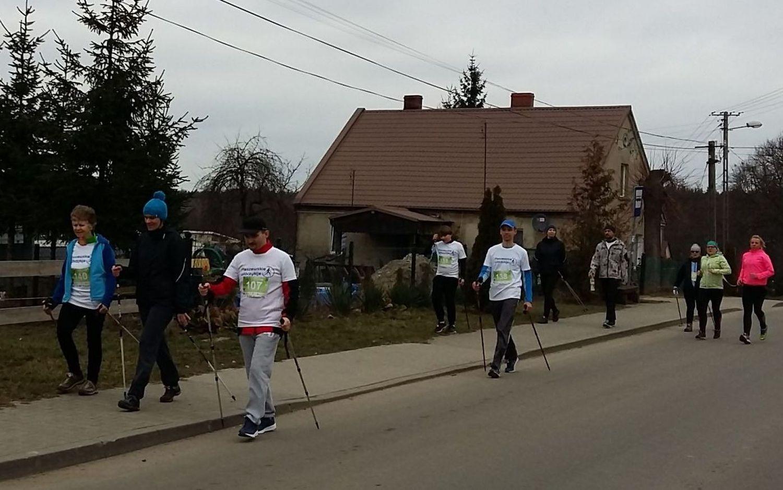 11 Pleszewskie Włóczykije nordic walking Pleszew Fitness Klub Active Fit Traugutta 30