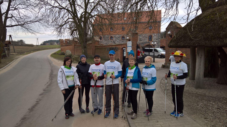 13 Pleszewskie Włóczykije nordic walking Pleszew Fitness Klub Active Fit Traugutta 30
