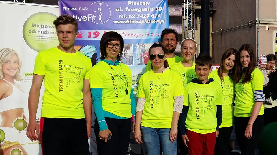 Dni Pleszewa 2015 siłownia Fitness Klub Active Fit ul. Traugutta 30