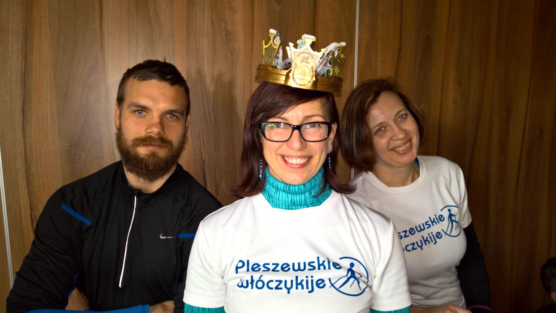 55 Pleszewskie Włóczykije nordic walking Pleszew Fitness Klub Active Fit Traugutta 30
