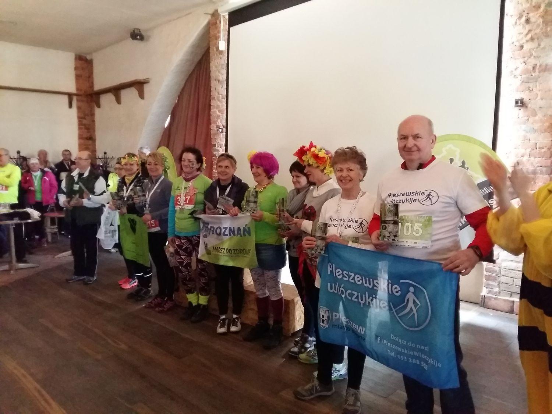 56 Pleszewskie Włóczykije nordic walking Pleszew Fitness Klub Active Fit Traugutta 30