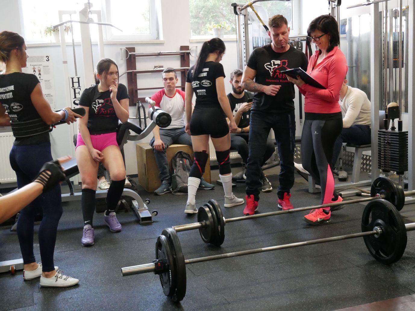 Zawody Martwy Ciąg Pleszew Fitness Klub Active Fit ul. Traugutta 30 siłownia trening personalny 9