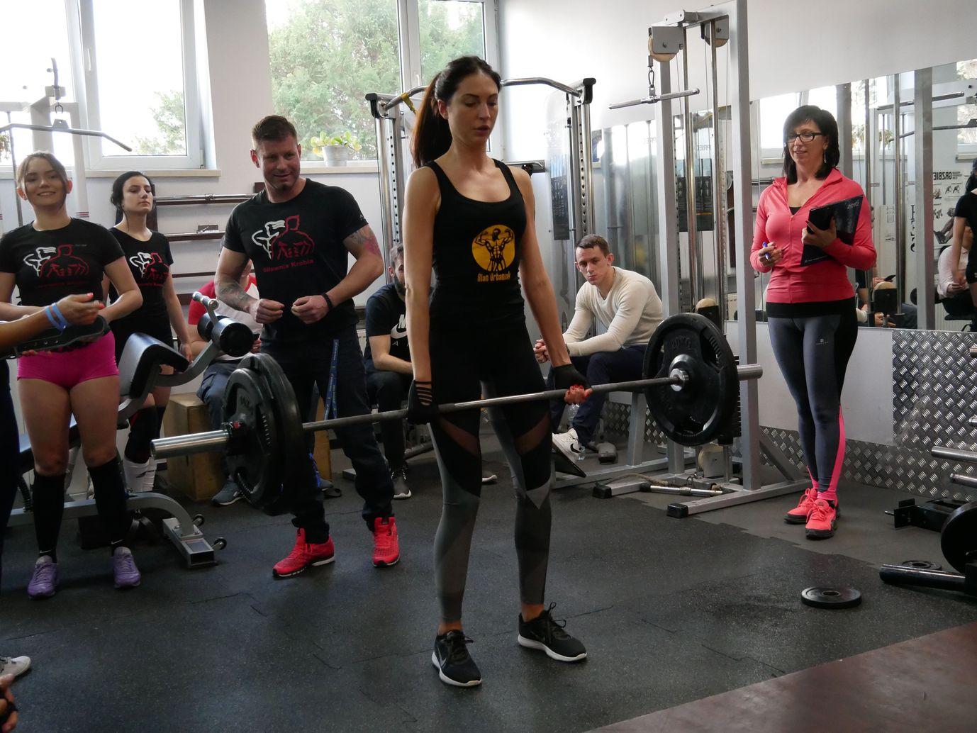 Zawody Martwy Ciąg Pleszew Fitness Klub Active Fit ul. Traugutta 30 siłownia trening personalny 10