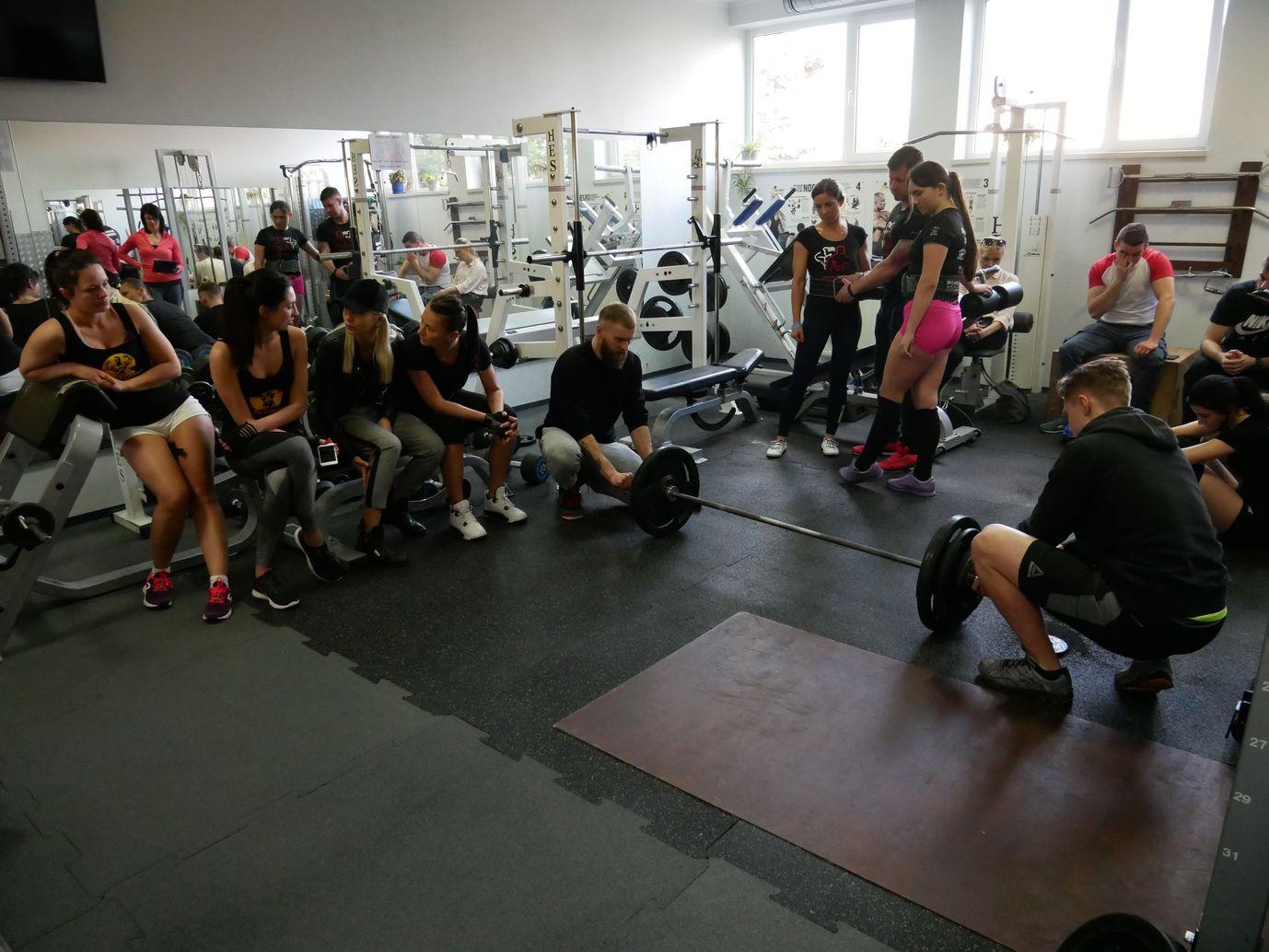 Zawody Martwy Ciąg Pleszew Fitness Klub Active Fit ul. Traugutta 30 siłownia trening personalny 19