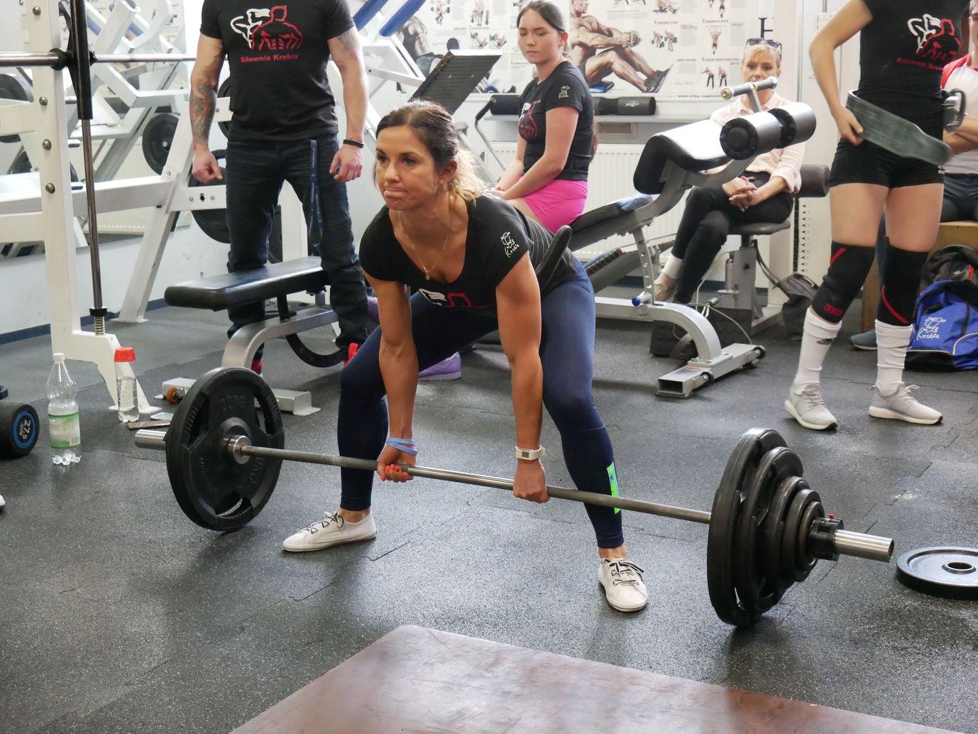 Zawody Martwy Ciąg Pleszew Fitness Klub Active Fit ul. Traugutta 30 siłownia trening personalny 20
