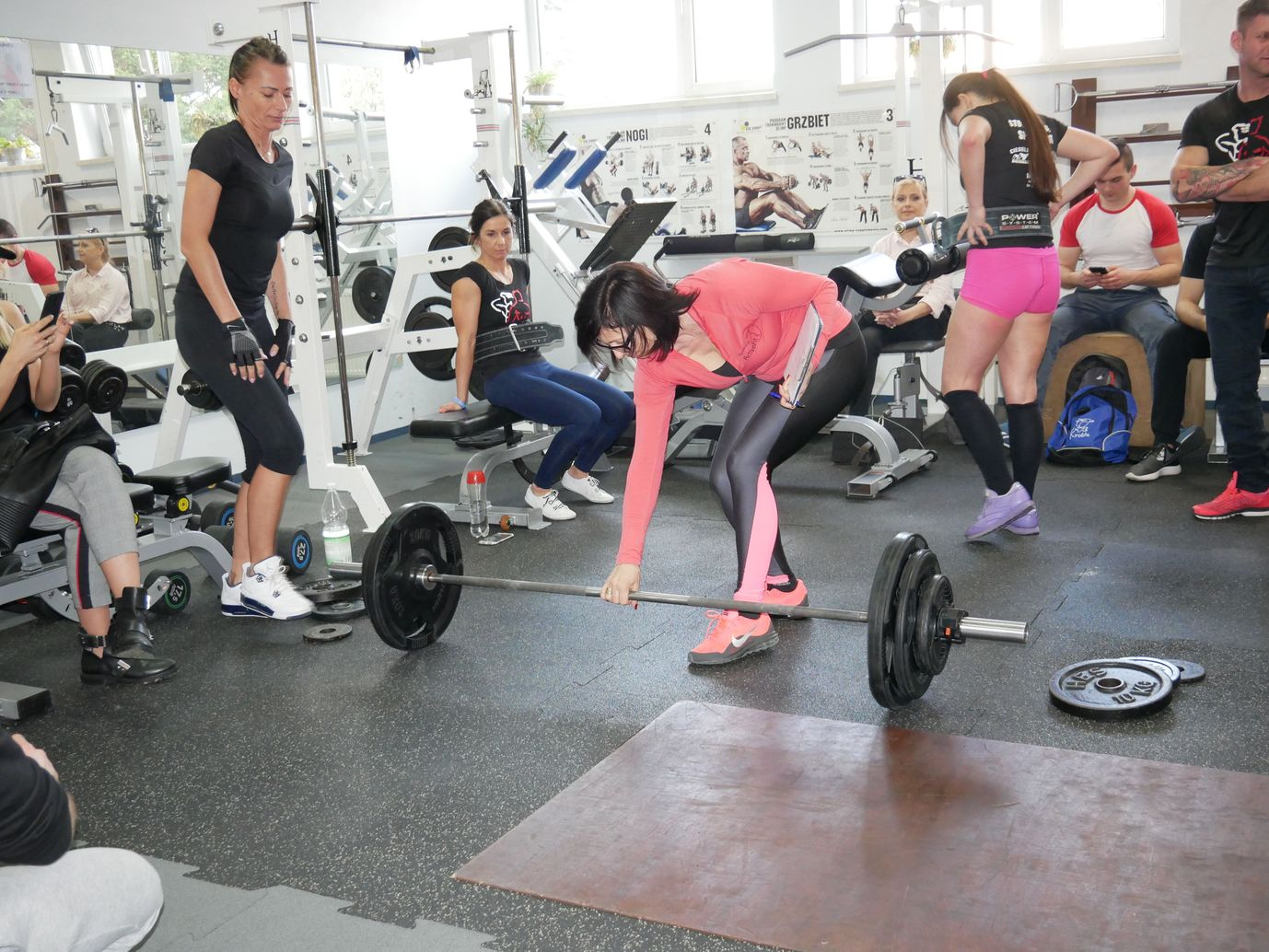 Zawody Martwy Ciąg Pleszew Fitness Klub Active Fit ul. Traugutta 30 siłownia trening personalny 25