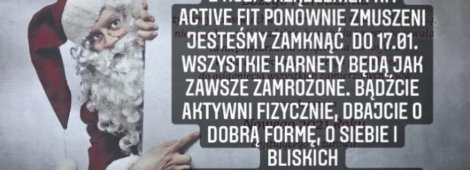 Fitness Klub Active Fit Pleszew Traugutta 30 trening personalny siłownia  fizjo
