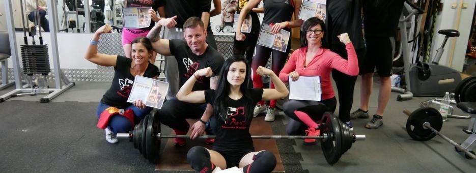 Zawody Martwy Ciąg Pleszew Fitness Klub Active Fit ul. Traugutta 30 siłownia trening personalny 1